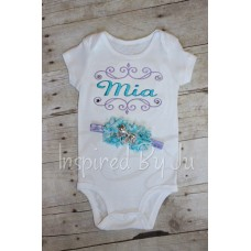 Body Suit with Matching Headband