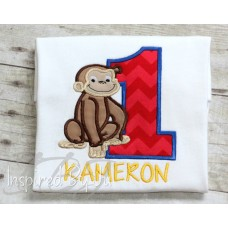Curious George - Birthday Shirt