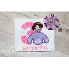 Sofia The First - Birthday Shirt