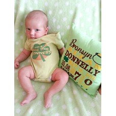 Pot O' Luck - Birth Announcement Pillow