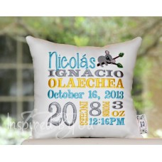 Koala - Birth Announcement Pillow