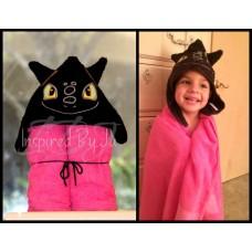 Toothless - Hooded Towel