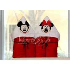 Mouse - Hooded Towel