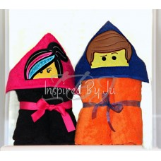 Lego Movie - Hooded Towel