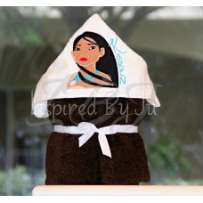 Pocahontas - Hooded Towel