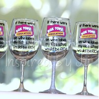 Box Top Wine Glass